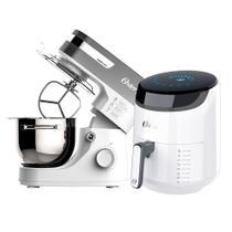 Kit Fritadeira Digital Fryer e Batedeira Planetária White Oster -