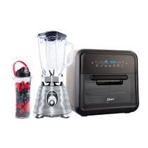 Kit Fritadeira Super Fryer e Liquidificador Osterizer com Jarra Blen N Go -