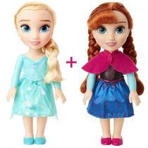 Kit Frozen 2 Bonecas Disney Elsa E Ana Originais 30cm - Mimo -