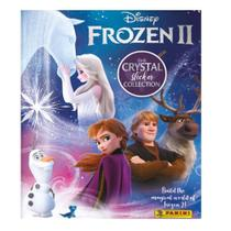 Kit Frozen Cristal Álbum Figurinhas Com 6 Envelopes - Panini -