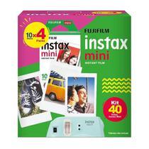 Kit Fujifilm Filme Instax Mini - 40 Fotos -