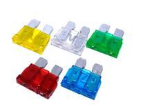 Kit fusivel lâmina 10, 15, 20, 25, 30 amperes médio 100 unid - Ntv