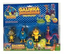 Kit Galinha Pintadinha E Sua Turma 4 Bonecos 9cm - Sp
