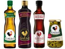 Kit Gallo Azeite de Oliva 500ml + Molho de Pimenta - 50ml + Vinagre Balsâmico 250ml + Azeitona 150g
