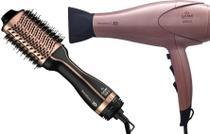 Kit gama keration 127v - secador 3d pro 2200w + escova stylish brush 3d 1200w - Ga.ma