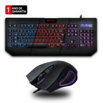 Kit Gamer C3 Tech Teclado C/ Macro + Mouse 3200dpi - Preto - C3tech