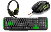Kit Gamer Multilaser Teclado TC201 + Mouse MO208 + Headphone PH146