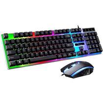 Kit Gamer Teclado LED + Mouse KB010 - Bsn