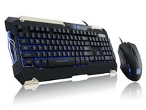 Kit Gamer Teclado Mecânico+mouse Sport Commander Thermaltake