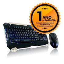 Kit Gamer Teclado Mecânico   Mouse Thermaltake TT SPORTS Commander Combo KB-CMC-PLBLPB-01
