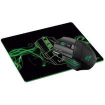 Kit Gamer Warrior Mouse LED + Mousepad Control - MO207 -