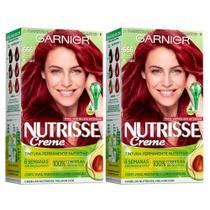 Kit Garnier Nutrisse - Coloração 666 Pimenta Malagueta -