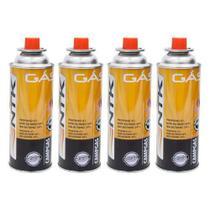 Kit Gás para Fogareiro e Maçaricos Campgas 4 Unidades - Nautika