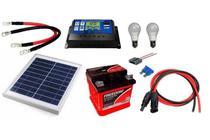 Kit Gerador de Energia Solar 10Wp - Gera até 32Wh/dia - Sinosola