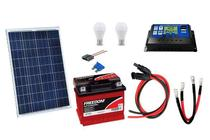 Kit Gerador de Energia Solar 30Wp - Gera até 97Wh/dia - Sinosola