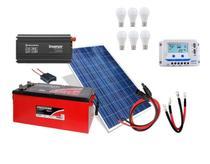 Kit Gerador de Energia Solar Off Grid 150Wp - Resun