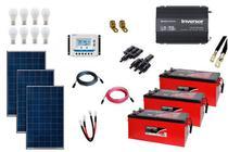 Kit Gerador de Energia Solar Off Grid 450Wp - Resun