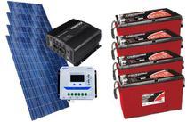 Kit Gerador De Energia Solar Off Grid 600Wp - Resun
