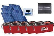 Kit Gerador de Energia Solar Off Grid 750Wp - Resun