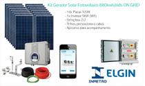 Kit Gerador Solar Fotovoltaico 880kwh/mês ON GRID - Elgin
