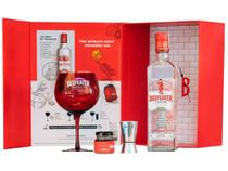 Kit Gin Beefeater 750ml - com Taça Dosador e Geleia para Drinks