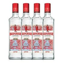 Kit Gin Beefeater London Dry 750ml - 4 Unidades -