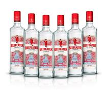 Kit Gin Beefeater London Dry 750ml - 6 Unidades -
