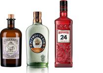 Kit Gin Plymouthl + Gin Monkey 47 + Gin Beefeater 24 -