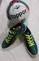 Kit goleada Chuteira / bola de campo - Topper