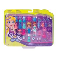 Kit Grande Moda Esportiva Polly Pocket - Mattel GDM18