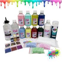 Kit Grande Para Fazer Todo Tipo De Slime - Kit Completo Slime Ine Slime -