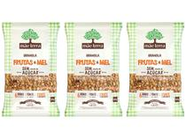 Kit Granola Mãe Terra Integral Sem Açúcar - Frutas e Mel 3 Unidades 800g Cada