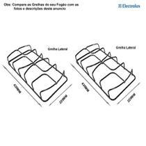 Kit grelhas p/ fogões electrolux 4 bocas 52 sx -
