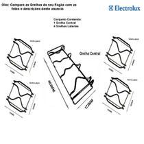 Kit grelhas p/ fogões tripla chama electrolux 5 bocas 76 bdr -