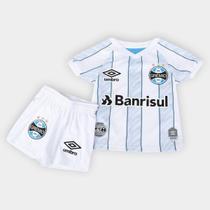 Kit Grêmio Infantil II 20/21 s/n Torcedor Umbro -