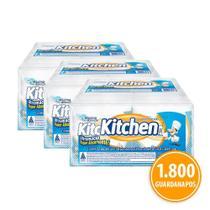 Kit Guardanapo Kitchen Folha Simples 36 Pacotes 33X30 Cm Com 50 Folhas Cada -