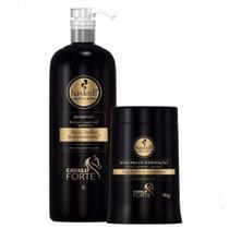 Kit Haskell Cavalo Forte Shampoo 1 Litro E Máscara 1kg -