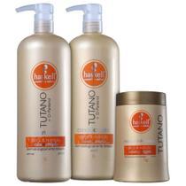 Kit Haskell Tutano Shampoo Condicionador E Mascara 1l/1kg -