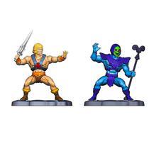 Kit He-Man Masters Of The Universe 2 Mini Figuras 6cm Mattel -