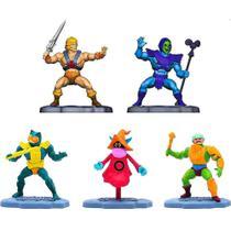 Kit He-Man Masters Of The Universe 5 Mini Figuras 6cm Mattel -
