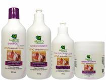 Kit Hidratação Profissional Cauterização Capilar Reparador Tratamento Completo - Hábito Cosméticos