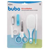 Kit higiene cuidados 4pçs azul Buba Baby -