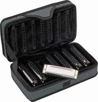 Kit hohner gaita blues (c/d/e/f/g/a/bb) 7 pecas -