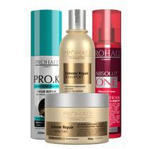 Kit Home Care Cauterização Capilar Prohall Cosmetic - Aneethun