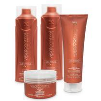 Kit Home Care Control Visat Hair 4 Itens -