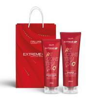 Kit Home Care Extreme UP Itallian 2pçs: Shampoo de Reconstrução 280ml + Reconstrução Profunda 250g -