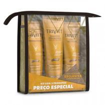 Kit Home care Leave-in  (3 Produtos) - Trivitt -