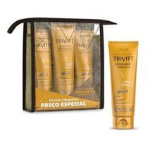 Kit Home Care Leave-in + Hidratação Intensiva Trivitt -