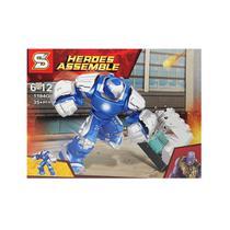 Kit Homem De Ferro Hulkbuster Blocos de Montar Mark 38 Igor Boneco Big Figure SY-1184G -