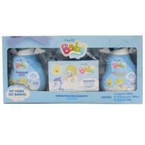 Kit hora do banho baby menino (sh+sab+cond) muriel -